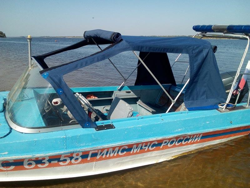Ходовой тент на лодку пошив Ателье Тент