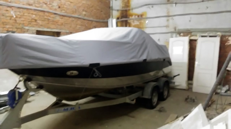 Стояночный тент на лодки — пошив на заказ Ателье Тент