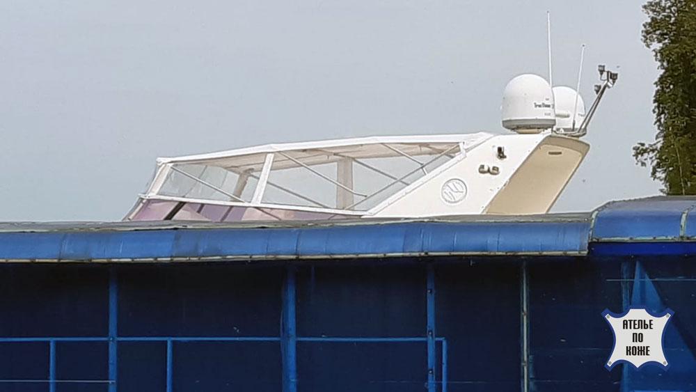 Ходовой тент на катер пошив в Ателье Тент Чебоксары