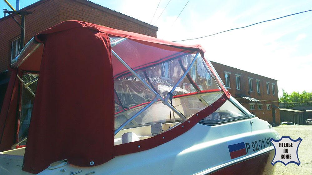Ходовой тент на катер лодку от Ателье Тент Чебоксары