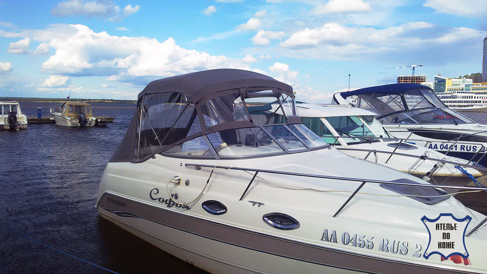 Ходовой тент для катера от Ателье Тент Чебоксары
