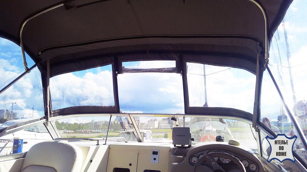 Ходовой тент на катер заказать в Ателье Тент Чебоксары