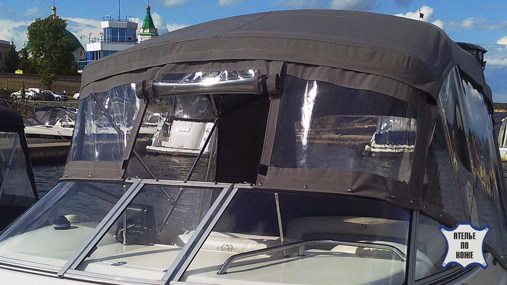 Ходовой тент на катер купить в Ателье Тент Чебоксары