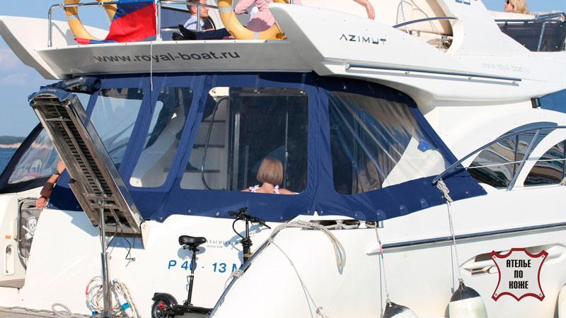 Ходовой тент на яхту - Ателье Тент