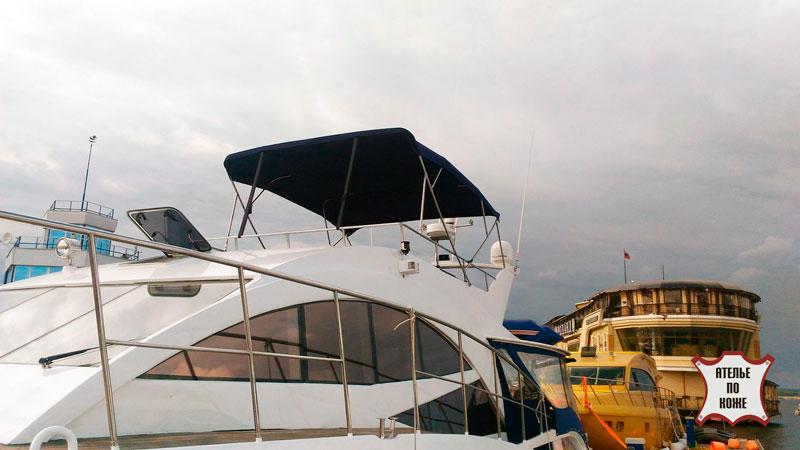 Ходовой тент на яхту - Ателье Тент Чебоксары