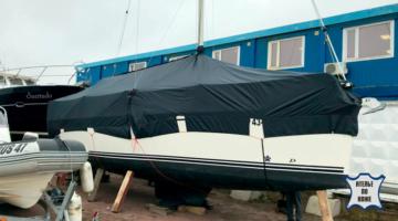 Стояночный тент на яхту