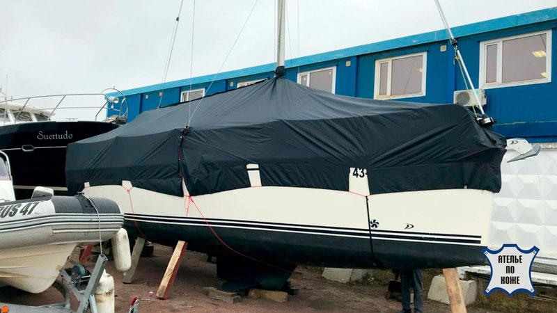 Стояночный тент на яхту на заказ - Ателье Тент