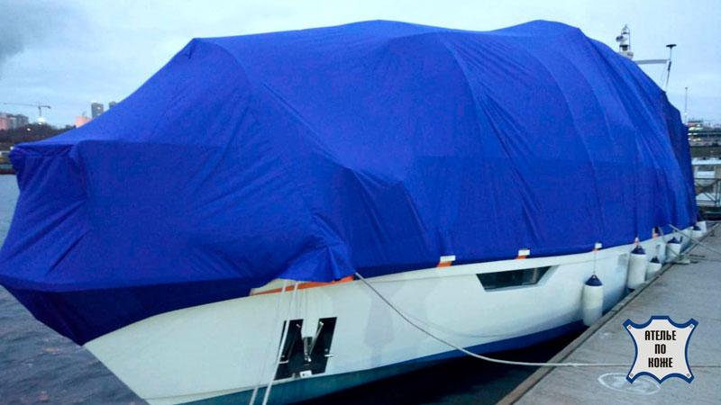 Стояночный тент на яхту - Ателье Тент