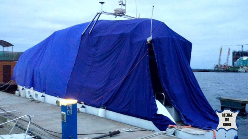 Стояночные тенты на яхту - Ателье Тент