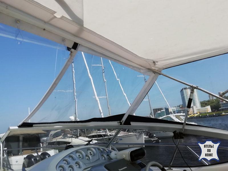 Ходовой тент на катер от Ателье Тент Чебоксары – фото 1