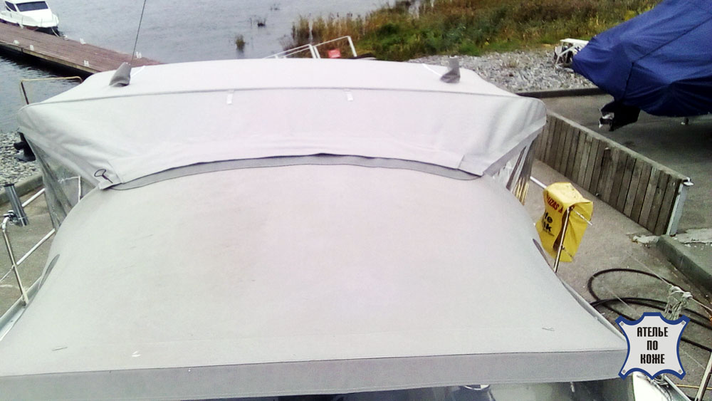Тент для катера на заказ в Ателье тент Чебоксар