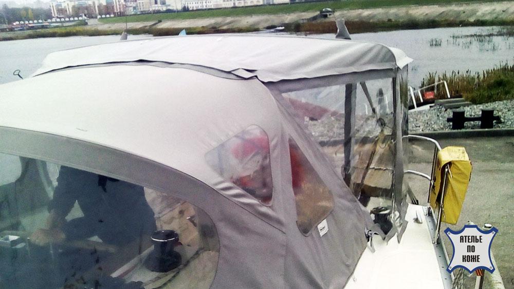 Тент на катер ходовой на заказ в Ателье тент Чебоксары