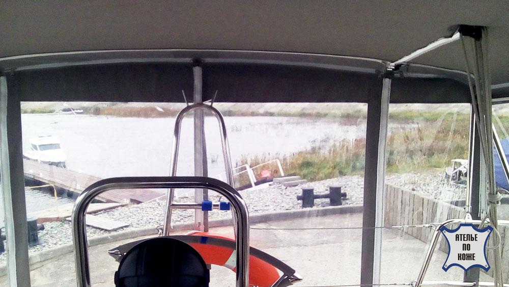 Тент на катер ходовой заказать в Ателье тент Чебоксары