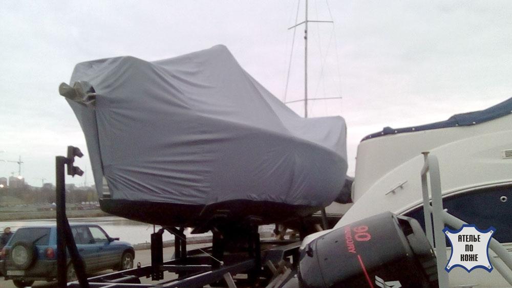 Тент для катера стояночный заказать пошив в Ателье тент Чебоксары