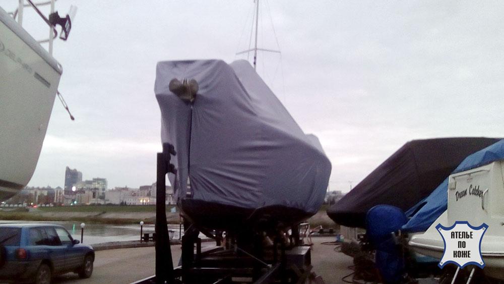 Тент на катер стояночный пошив на заказ в Ателье тент Чебоксары