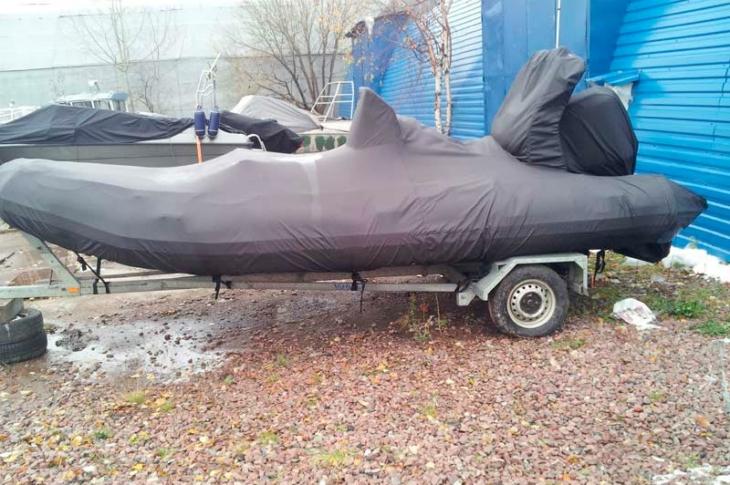Зимний тент на лодку