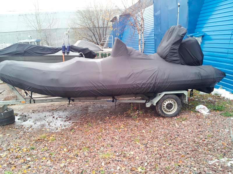 Зимний тент на лодку - Ателье Тент Чебоксары