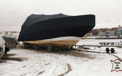 Зимний тент на яхту