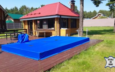 Тент на каркасный бассейн