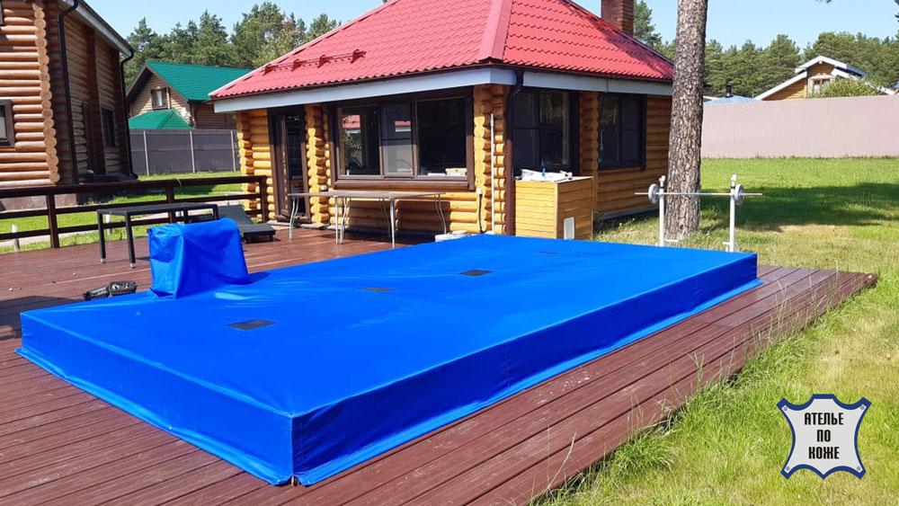 Тент на каркасный бассейн — Ателье тент