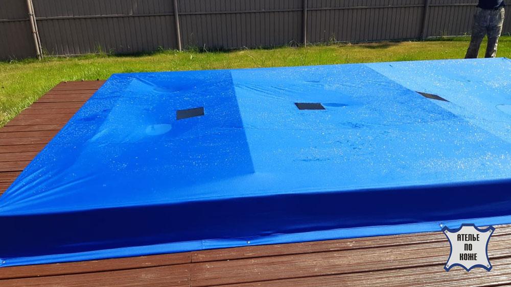 Защитный чехол на каркасный бассейн — Ателье тент