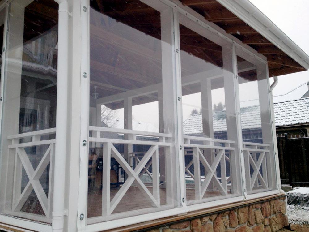 Мягкие гибкие окна в Чебоксарах — Ателье тент