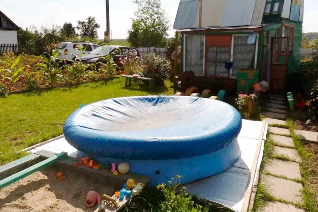 Тент на надувной бассейн на заказ в Ателье Тент Чебоксары