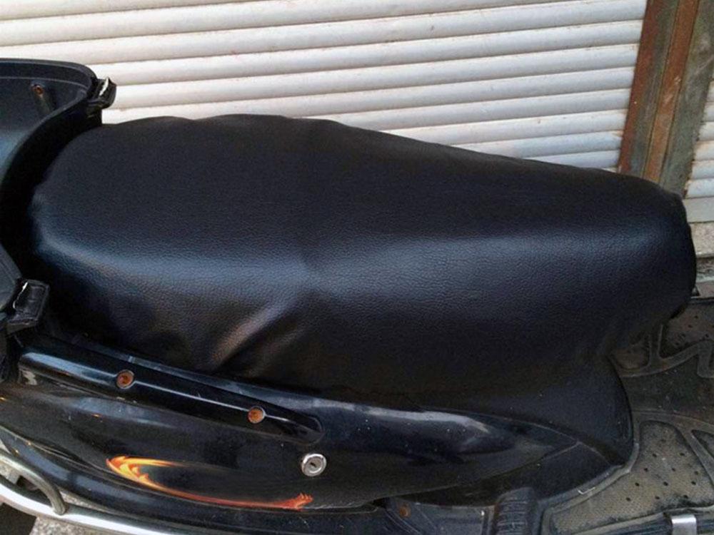 Кожаный чехол для сиденья скутера - Ателье тент Чебоксары