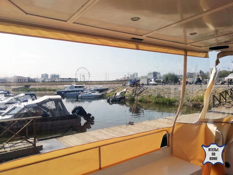 Ходовой тент на яхту от Ателье Тент Чебоксары – фото 1