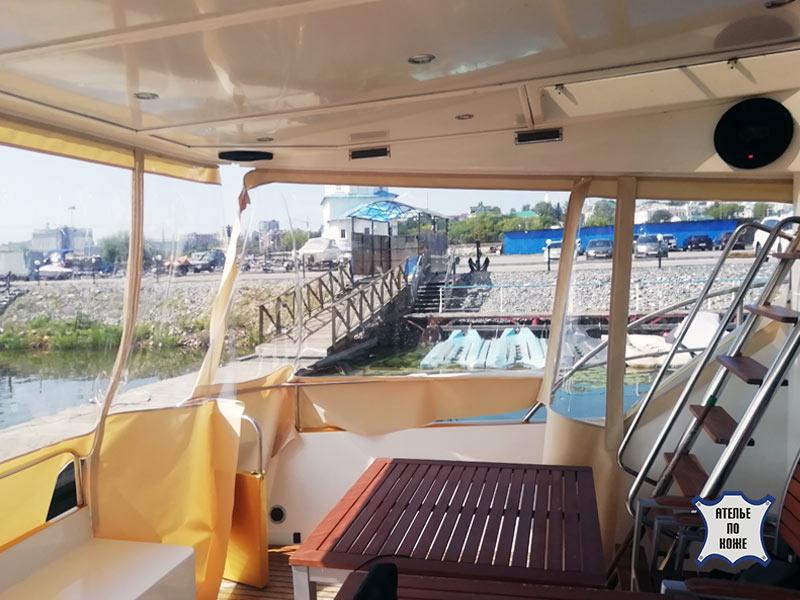 Ходовой тент на яхту от Ателье Тент Чебоксары – фото 2