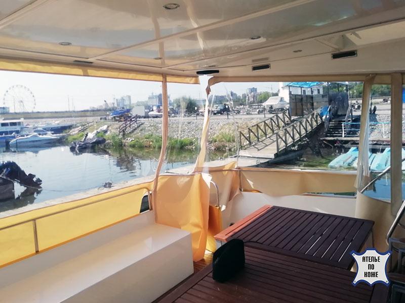 Ходовой тент на яхту от Ателье Тент Чебоксары – фото 3